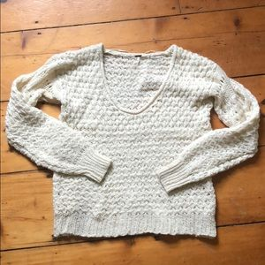 Free People chunky knit sweater